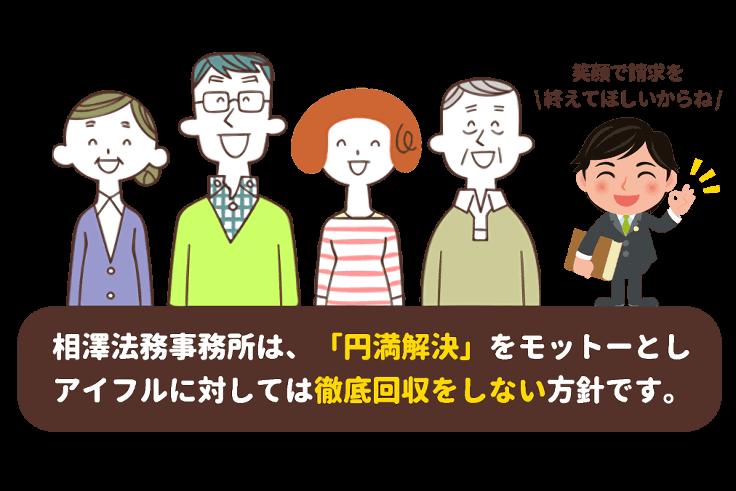 相澤法務事務所は円満解決をモットーとします