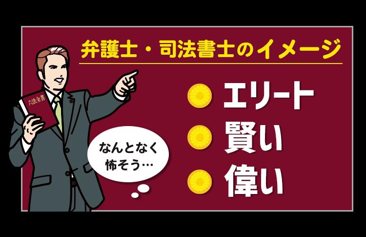 弁護士・司法書士のイメージ