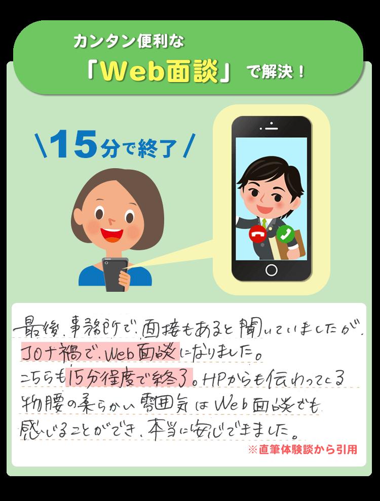 WEB面談(LINE面談)