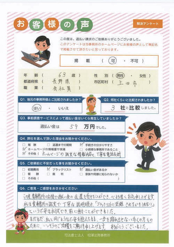 ありがとうの声:上田市
