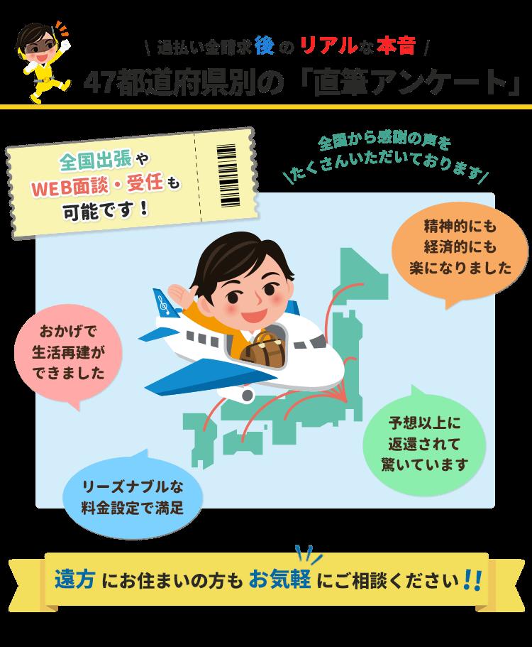 直筆アンケート【47都道府県ページ】
