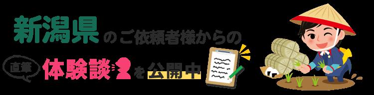 新潟県アンケート