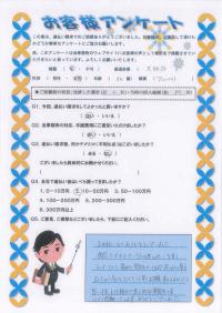 ありがとうの声:東大阪市