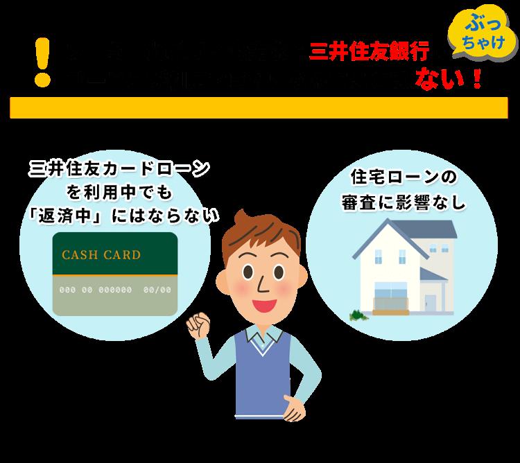 三井住友銀行カードローンや住宅ローンへの影響は?